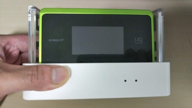 WiMAX WX06 クレードルセット