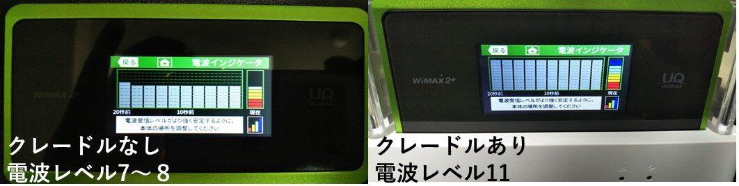WX06電波インジケータ比較